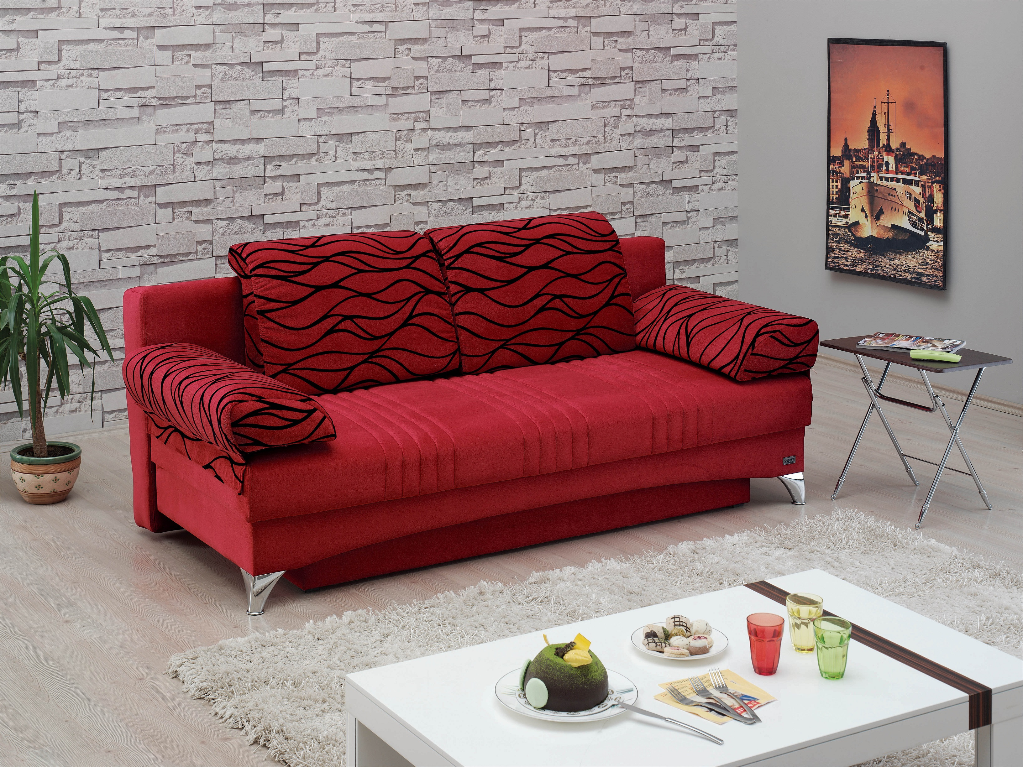 daisy sofa bed red sofa bed red daisy red